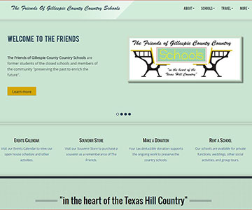 The Friends of Gillespie County Country Schools